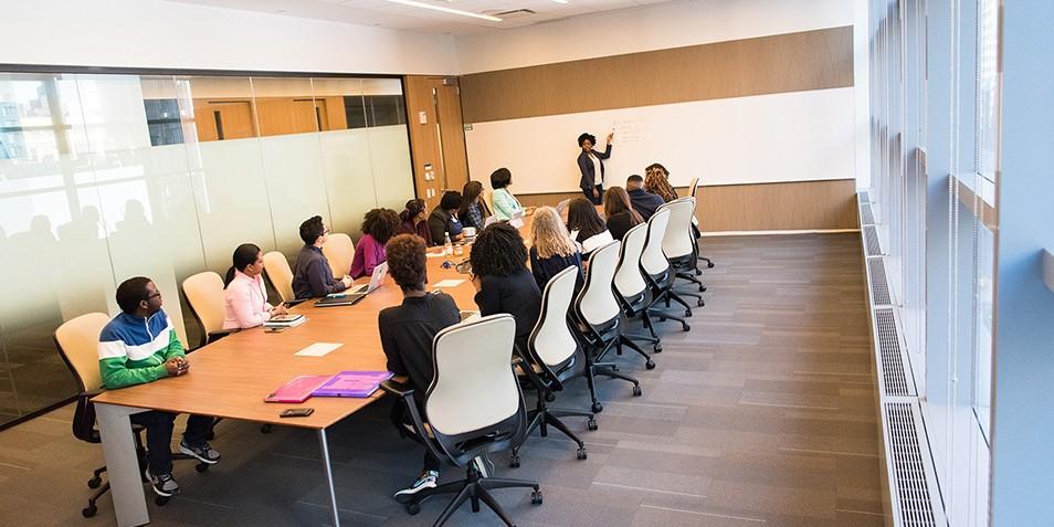 Large training meeting