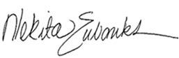 Nekita Eubanks signature