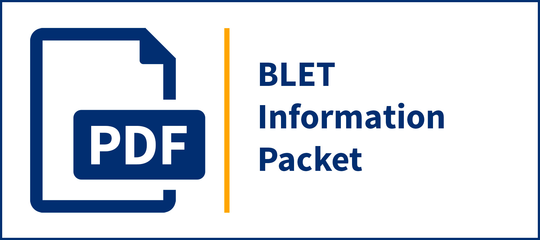 BLET Information Packet