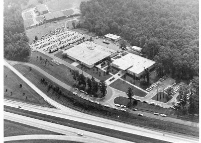 North Campus Aerial, September 17, 1970