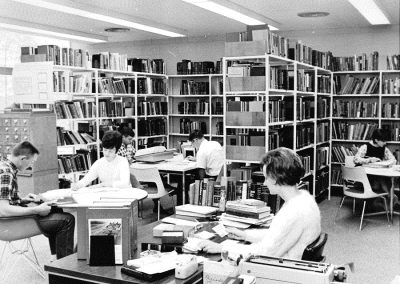 Library, Spring 1966