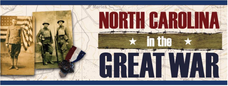 North Carolina in the Great War banner