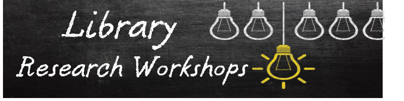 Library Research Workshop