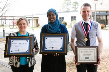Rowan-Cabarrus Community College Student Wins Statewide Award