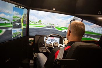 New Driving Simulator Will Improve Public Safety Training and Safety of the Public