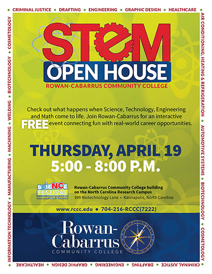 STEM Open House | Rowan-Cabarrus Community College