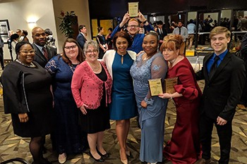 Rowan-Cabarrus Community College Student Government Association Takes Top Campus Award at State Competition