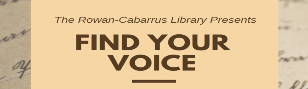 Find your voice image