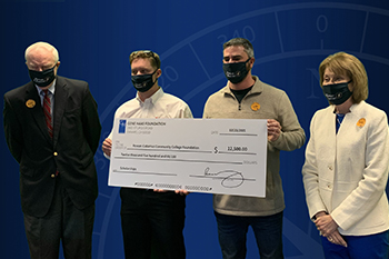 Gene Haas Foundation Provides Grant to Support Rowan-Cabarrus Students