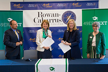 New Agreement Offers Eligible Rowan-Cabarrus Community College Students Guaranteed Admission to UNC Charlotte