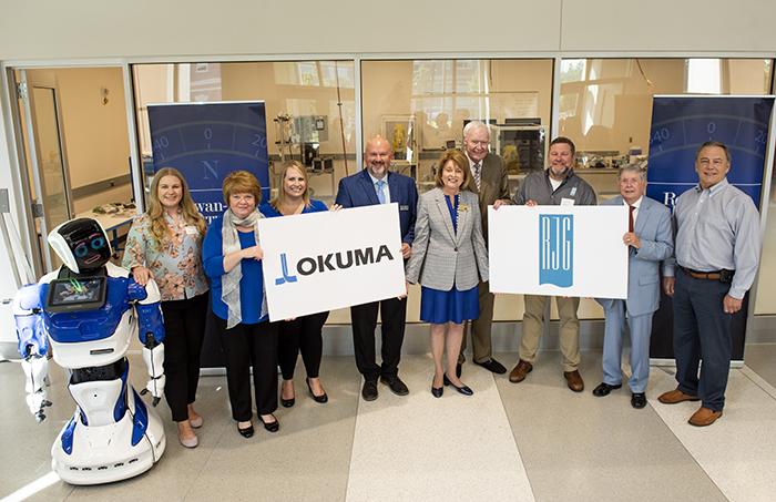 Okuma and RJG partners with Dr. Spalding